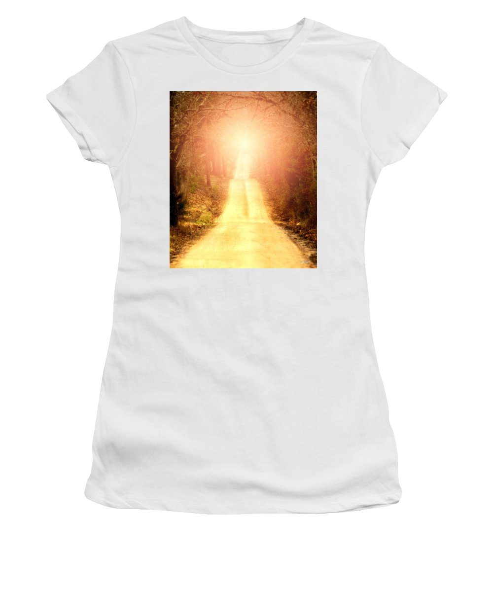 Country Women's T-Shirt (Athletic Fit) featuring the digital art Going Home by Bill Stephens