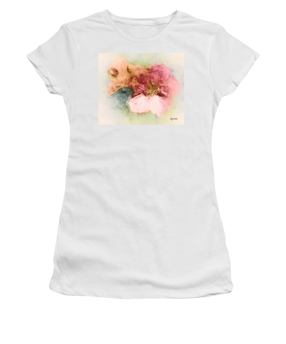 Flowers Women's T-Shirt (Athletic Fit) featuring the digital art Gone Native by RC DeWinter
