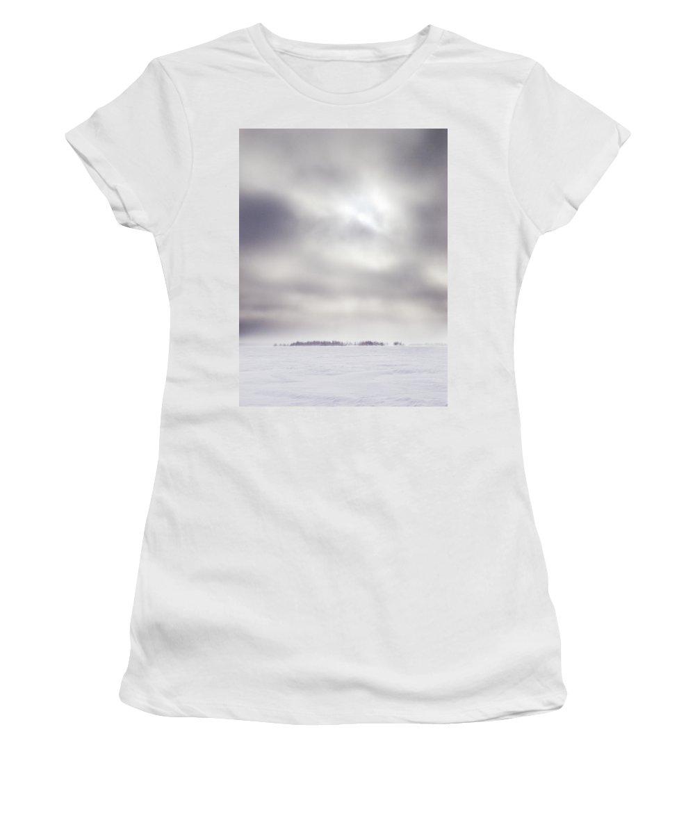 Lehtokukka Women's T-Shirt (Athletic Fit) featuring the photograph Gulf Of Bothnia Variations Nr 17 by Jouko Lehto