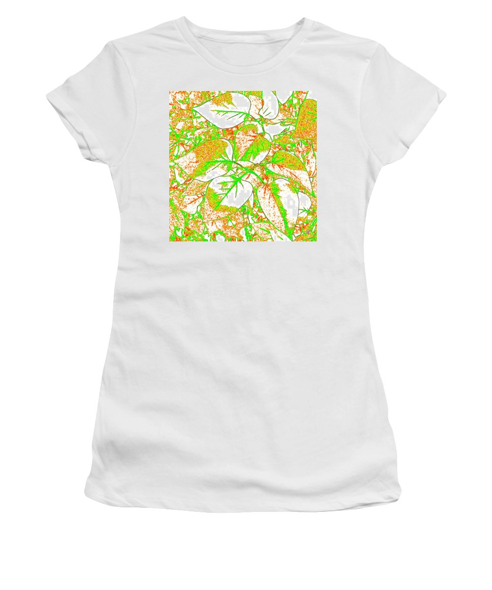 Abstract Women's T-Shirt featuring the digital art Harmony 11 by Will Borden