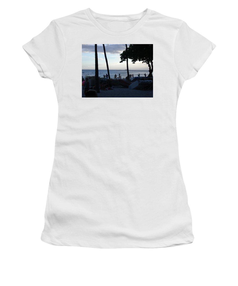 Hawaii Women's T-Shirt featuring the photograph Hawaiian Afternoon by Daniel Sauceda