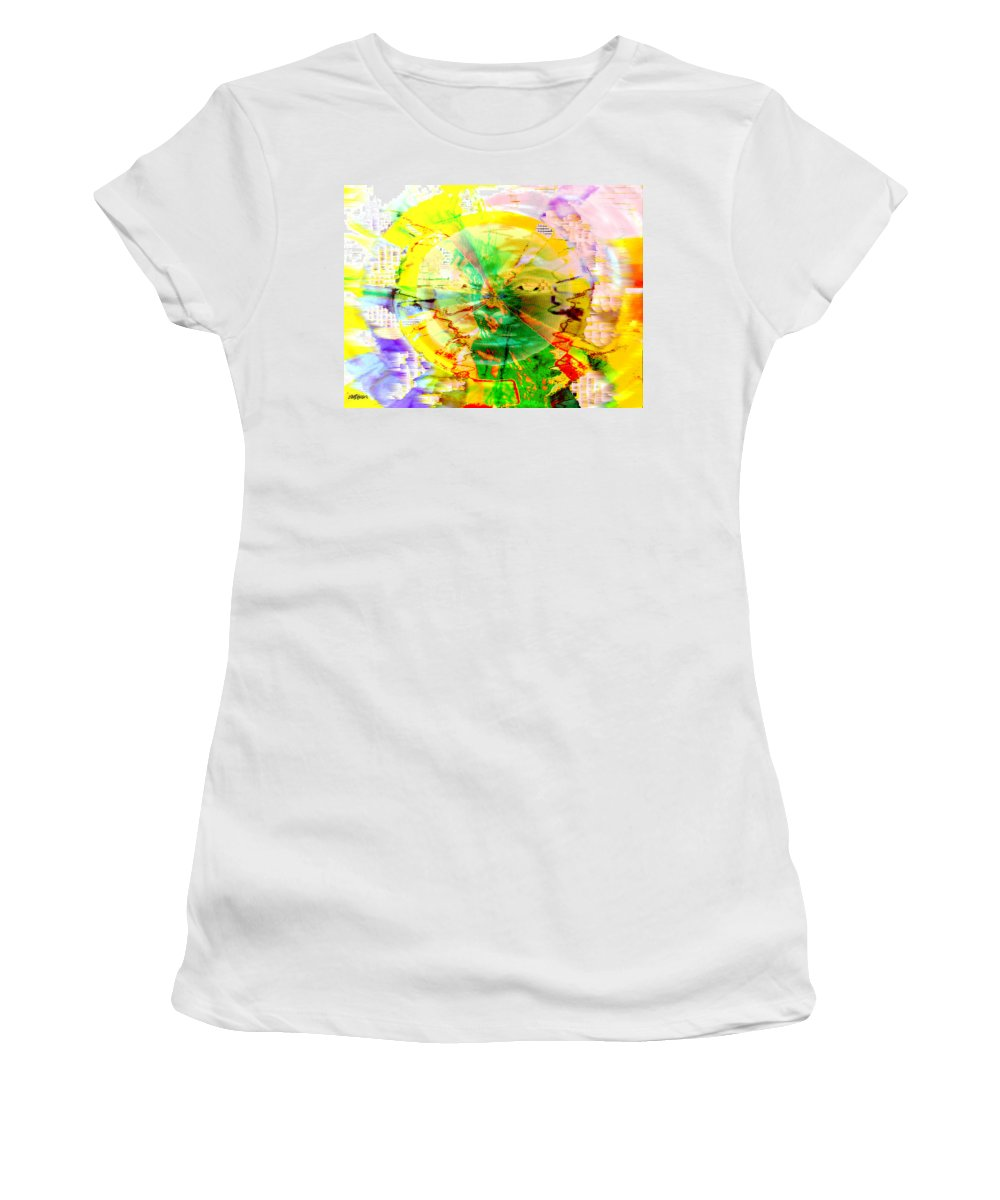 Beatles Women's T-Shirt (Athletic Fit) featuring the photograph Here Comes The Sun by Seth Weaver