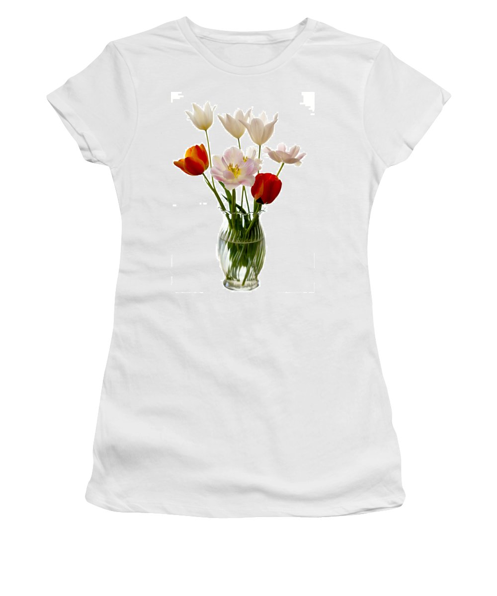 Flower Women's T-Shirt (Athletic Fit) featuring the photograph Home Grown by Marilyn Hunt