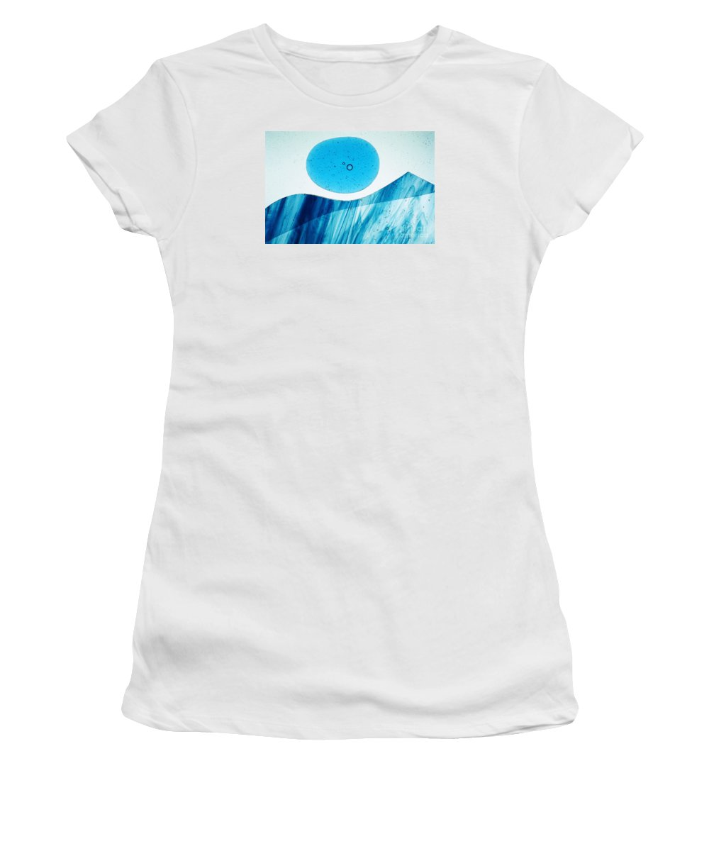 Art-deco Women's T-Shirt (Athletic Fit) featuring the photograph Illuminations 25 by Barbara Chase