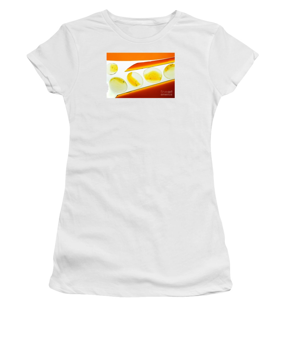 Art Deco Women's T-Shirt (Athletic Fit) featuring the photograph Illuminations 41 by Barbara Chase
