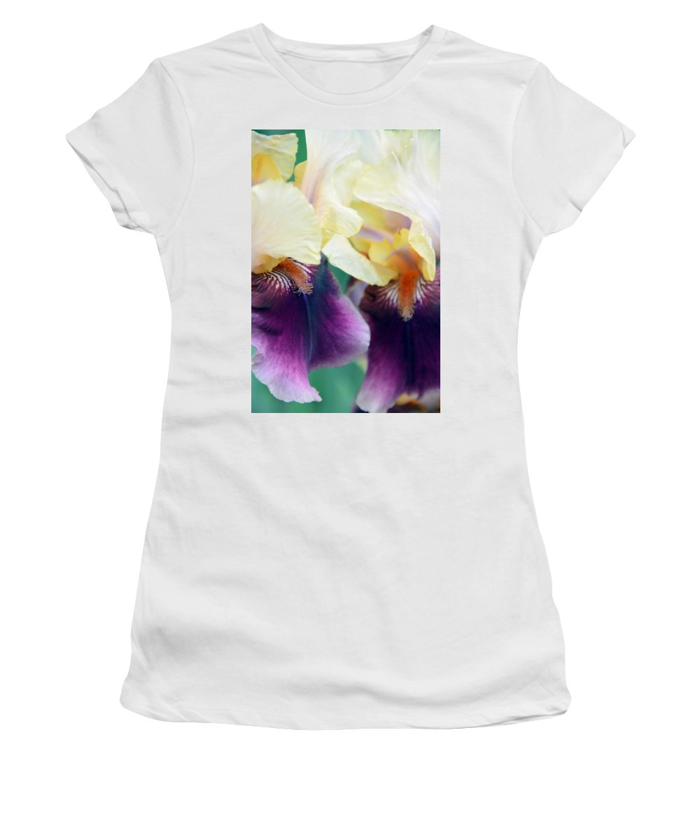 Iris Women's T-Shirt (Athletic Fit) featuring the photograph In Love With Iris by Angelina Vick