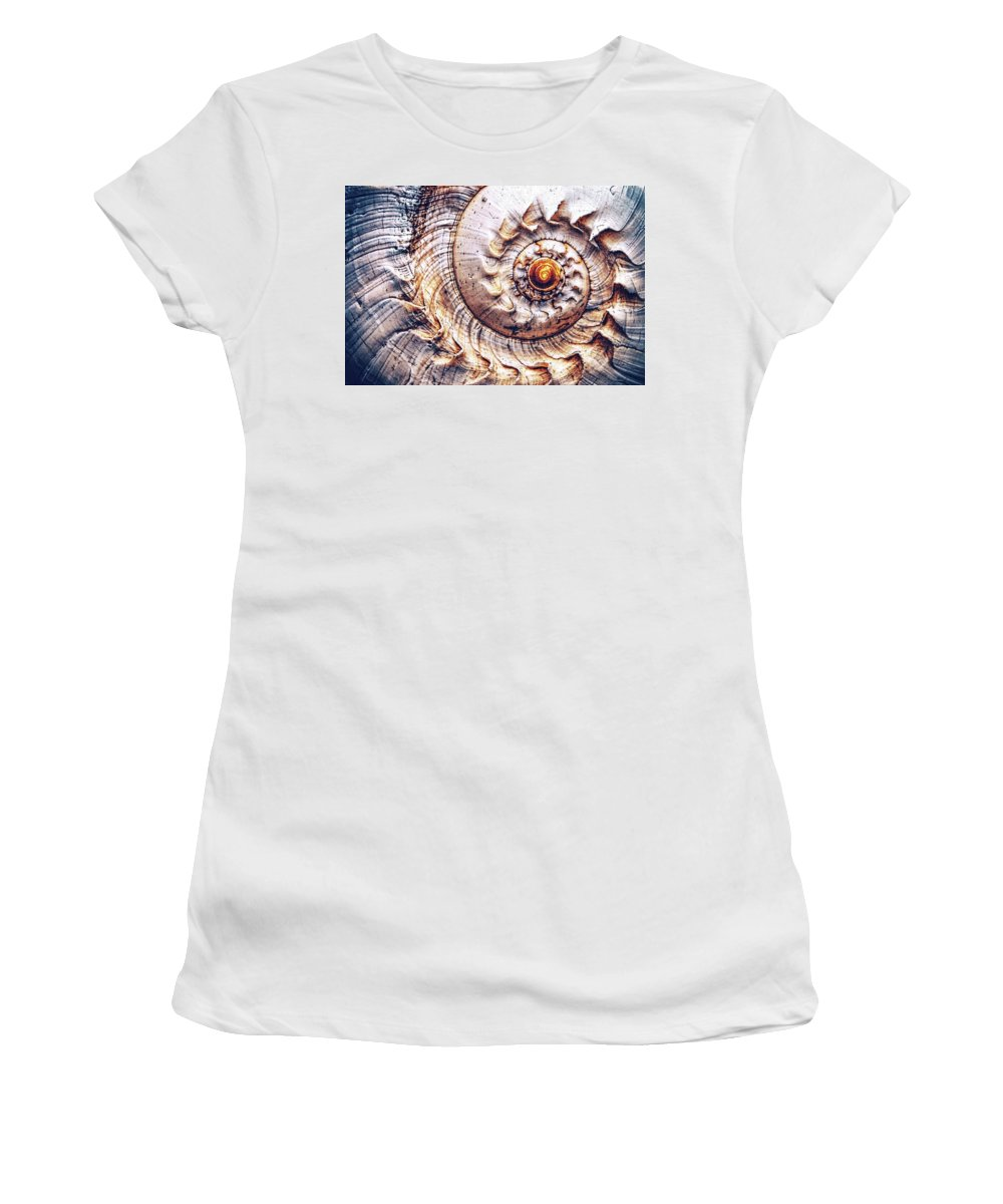 Spiral Women's T-Shirt featuring the photograph Into The Spiral by Jaroslav Buna