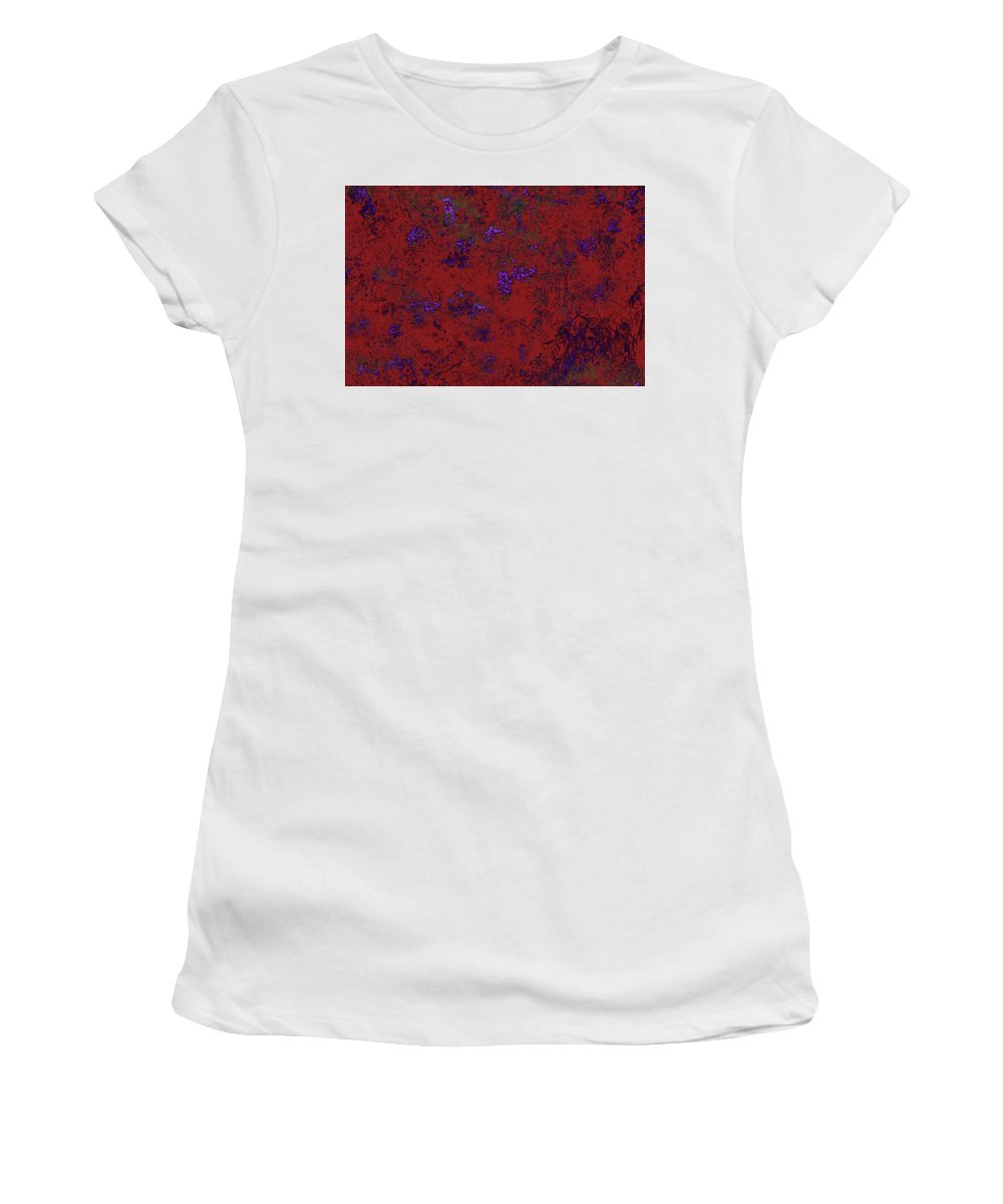 Berries Women's T-Shirt (Athletic Fit) featuring the photograph Juniper Berries 1 2 by Gary Bartoloni