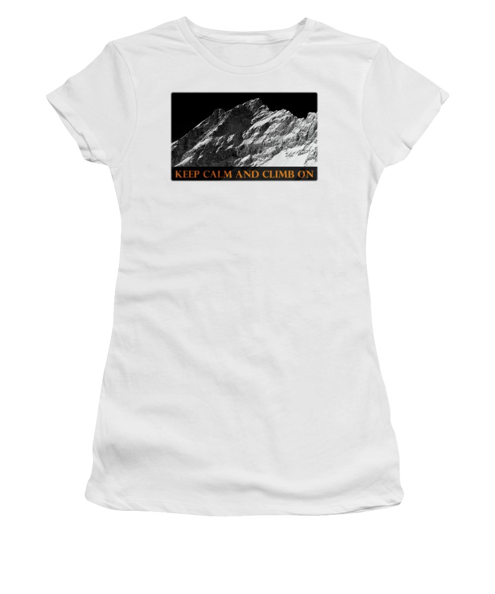 Rocky Mountains Photographs Women's T-Shirts