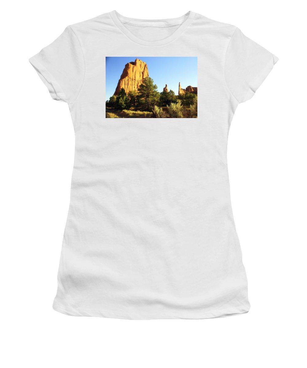 Utah Women's T-Shirt featuring the photograph Kodachrome Basin I by Marty Koch