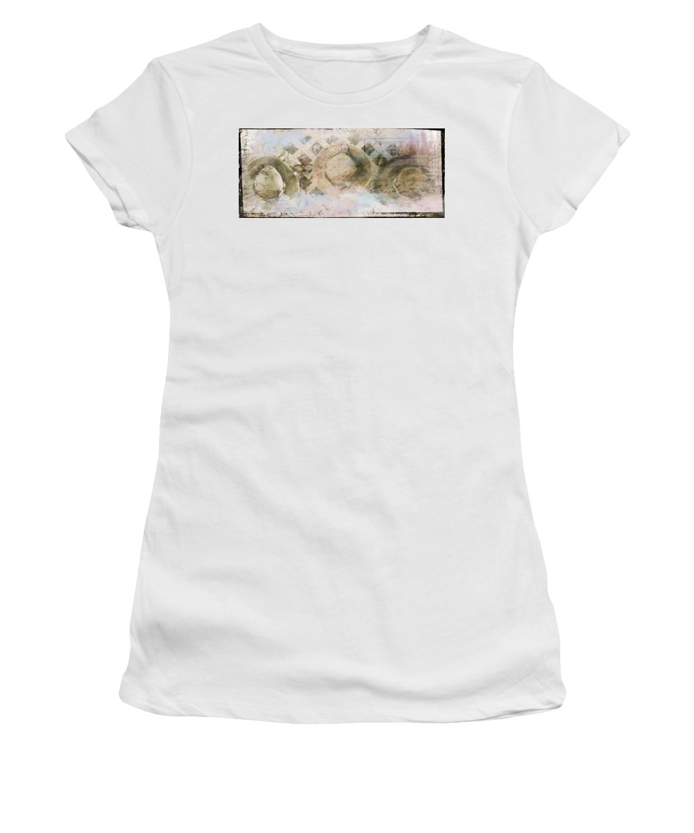 Lady Women's T-Shirt (Athletic Fit) featuring the photograph Ladies Hat Club by Tim Palmer