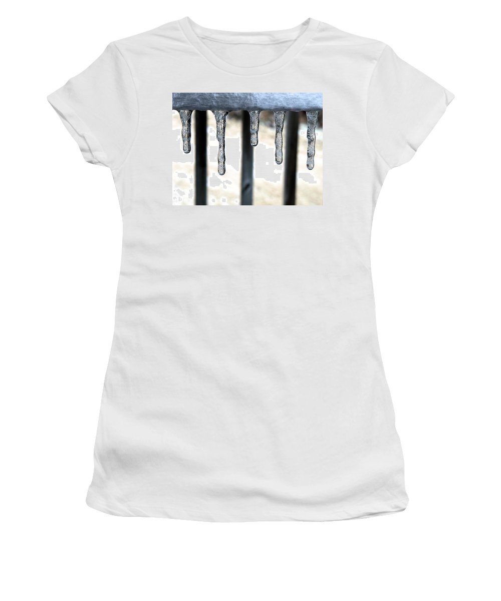 Women's T-Shirt (Athletic Fit) featuring the photograph Lignes by Shannon Turek