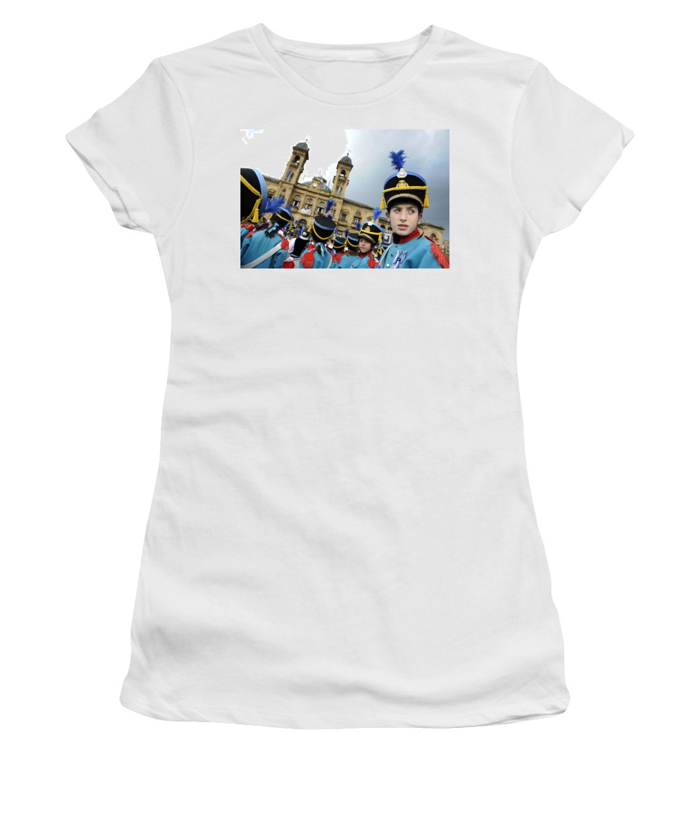 Spain Women's T-Shirt featuring the photograph Little Soldiers Iv by Rafa Rivas