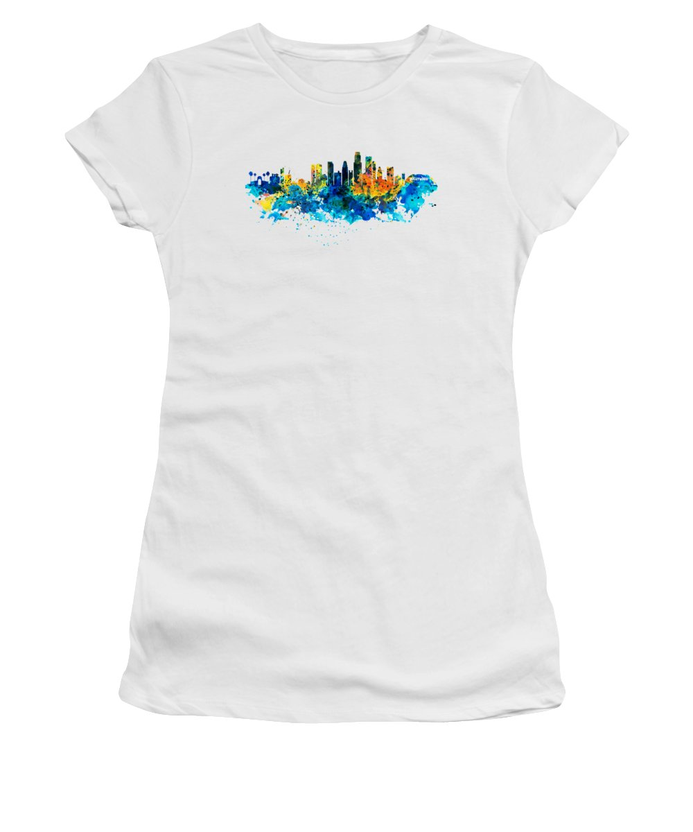 Los Angeles Skyline Women's T-Shirts