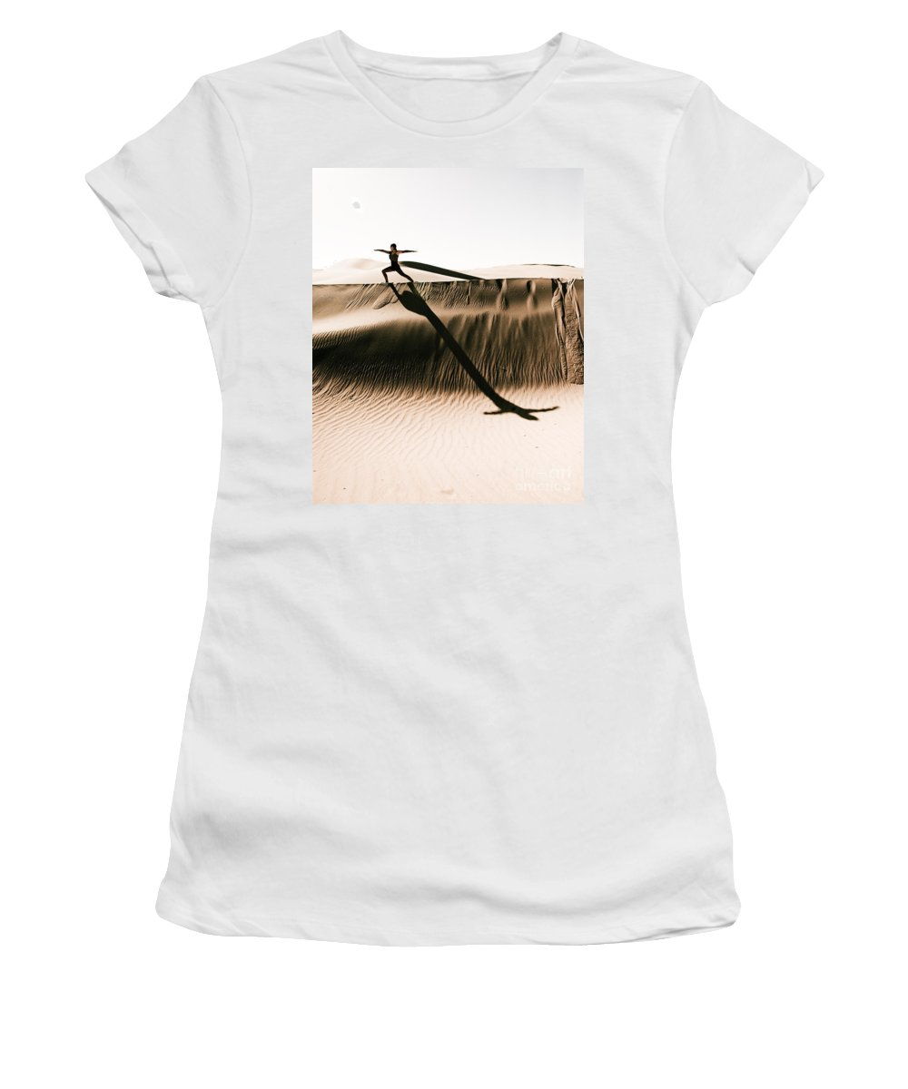 Yoga Women's T-Shirt featuring the photograph Mid Morning Anthem by Scott Sawyer