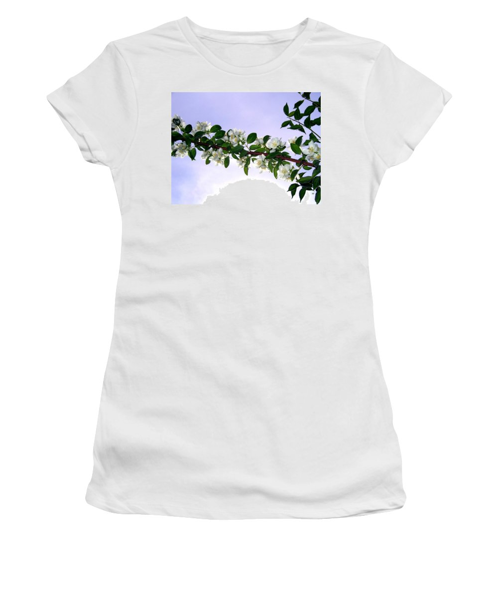 Mock Orange Women's T-Shirt (Athletic Fit) featuring the photograph Mock Orange by Will Borden