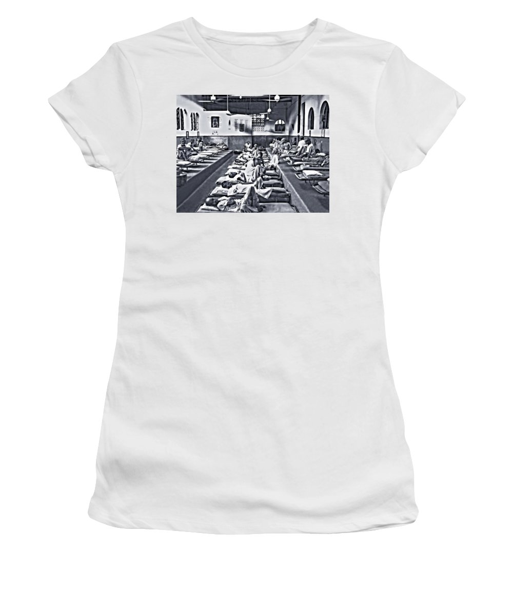 Calcutta Women's T-Shirt (Athletic Fit) featuring the photograph Mother Theresa's by Steve Harrington