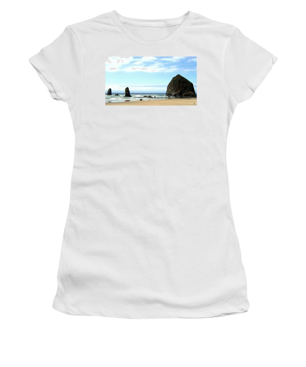 Needles Women's T-Shirt (Athletic Fit) featuring the photograph Needles And The Haystack by Will Borden