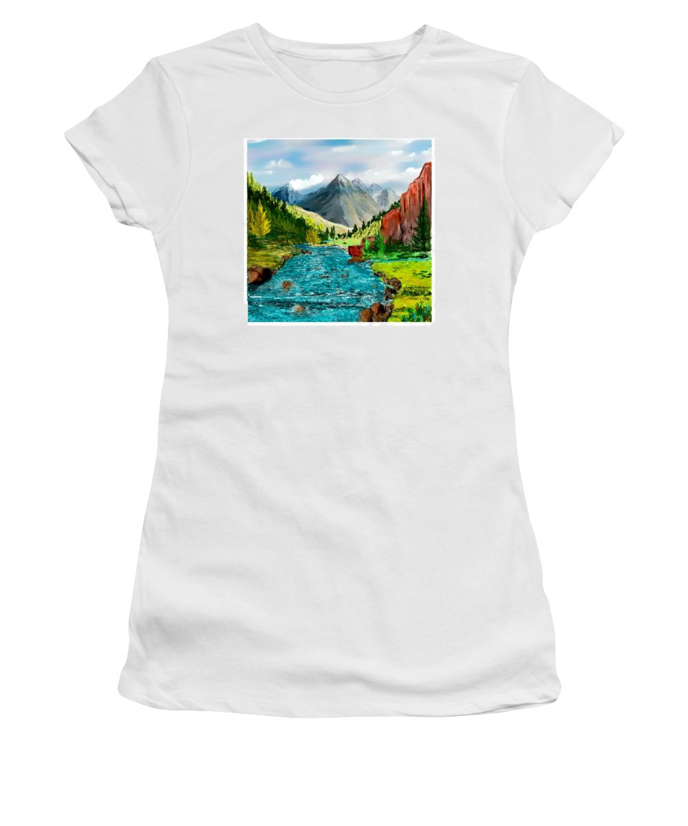 Women's T-Shirt featuring the New Upload by David Lane