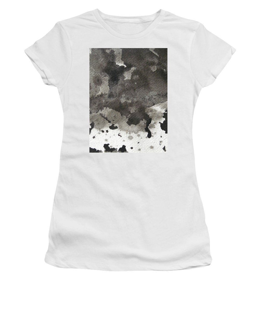 Women's T-Shirt featuring the painting No Color Needed 5 by LaDara McKinnon