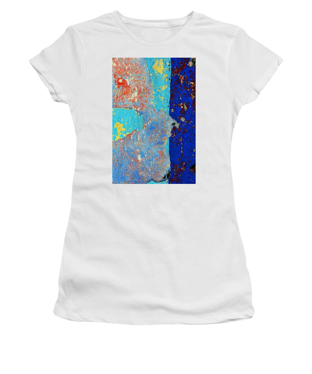 Skip Women's T-Shirt (Athletic Fit) featuring the photograph Occupation by Skip Hunt