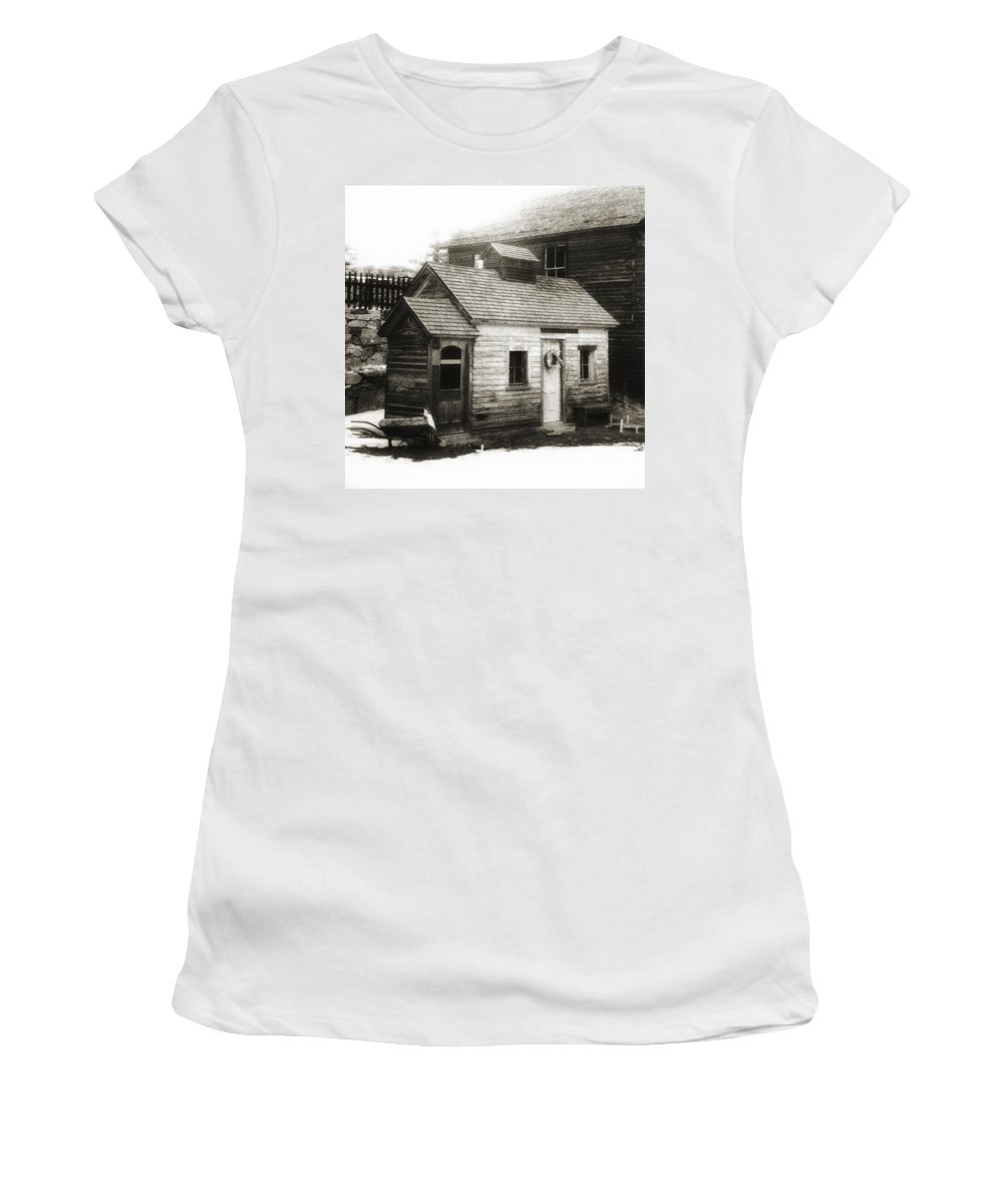 Infrared Women's T-Shirt featuring the photograph Old Miner by Marilyn Hunt
