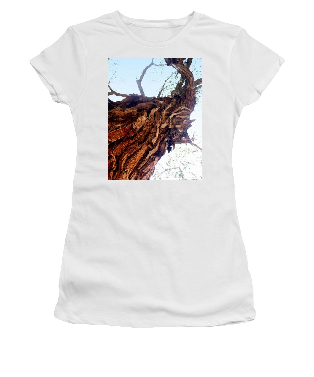 Tree Women's T-Shirt featuring the photograph Old Tree by Marty Koch
