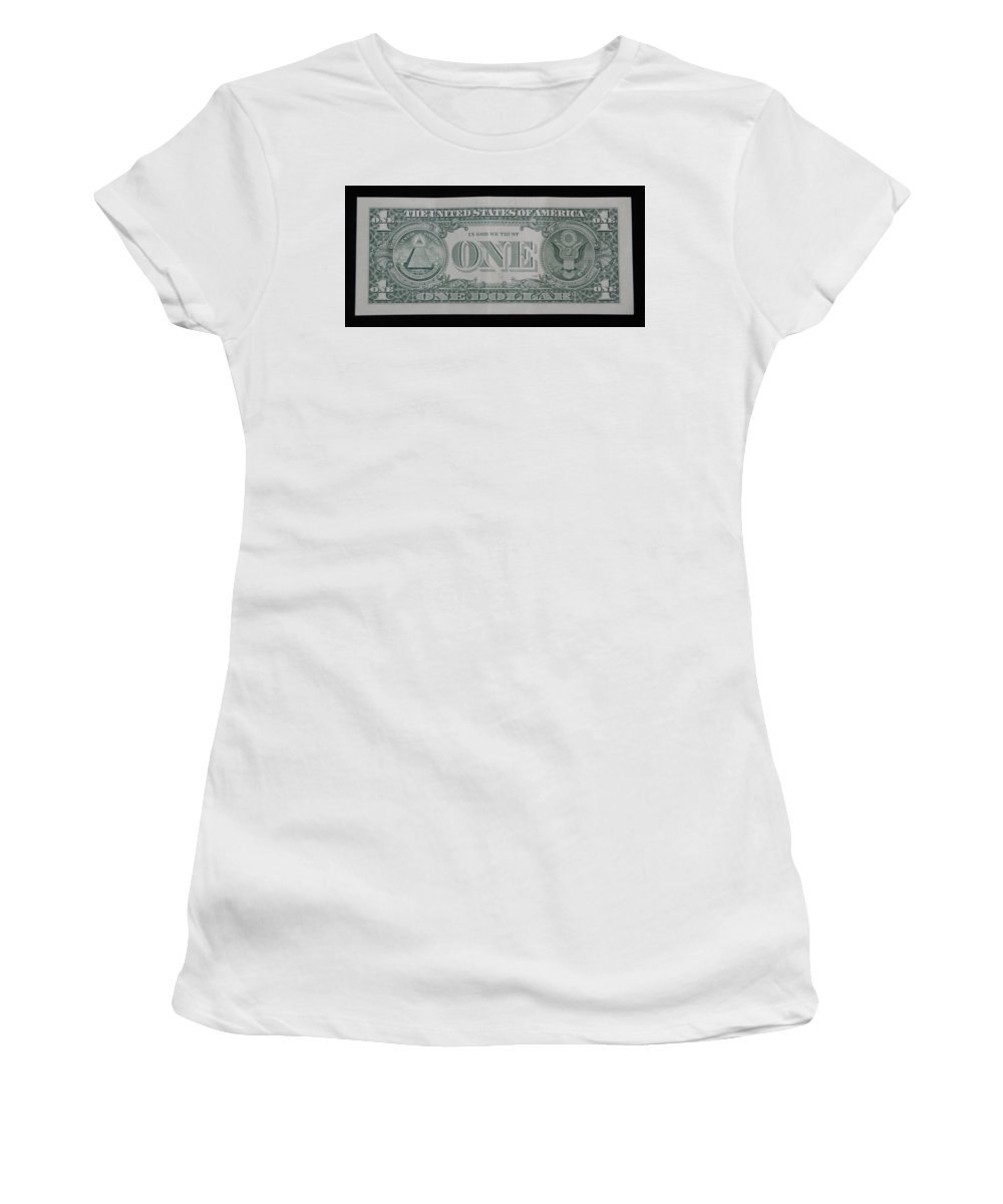 One Women's T-Shirt (Athletic Fit) featuring the photograph One Green Back by Rob Hans