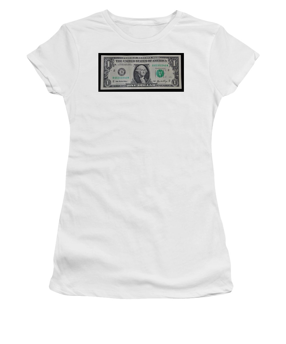 One Women's T-Shirt (Athletic Fit) featuring the photograph One Green by Rob Hans