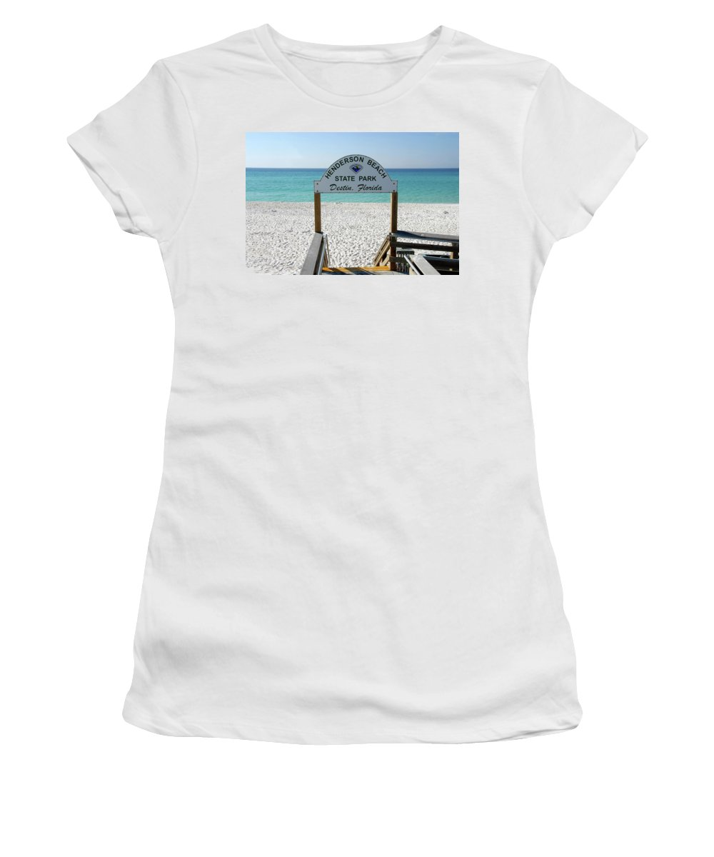 Fine Art Photography Women's T-Shirt (Athletic Fit) featuring the photograph Panhandle Jewel by David Lee Thompson