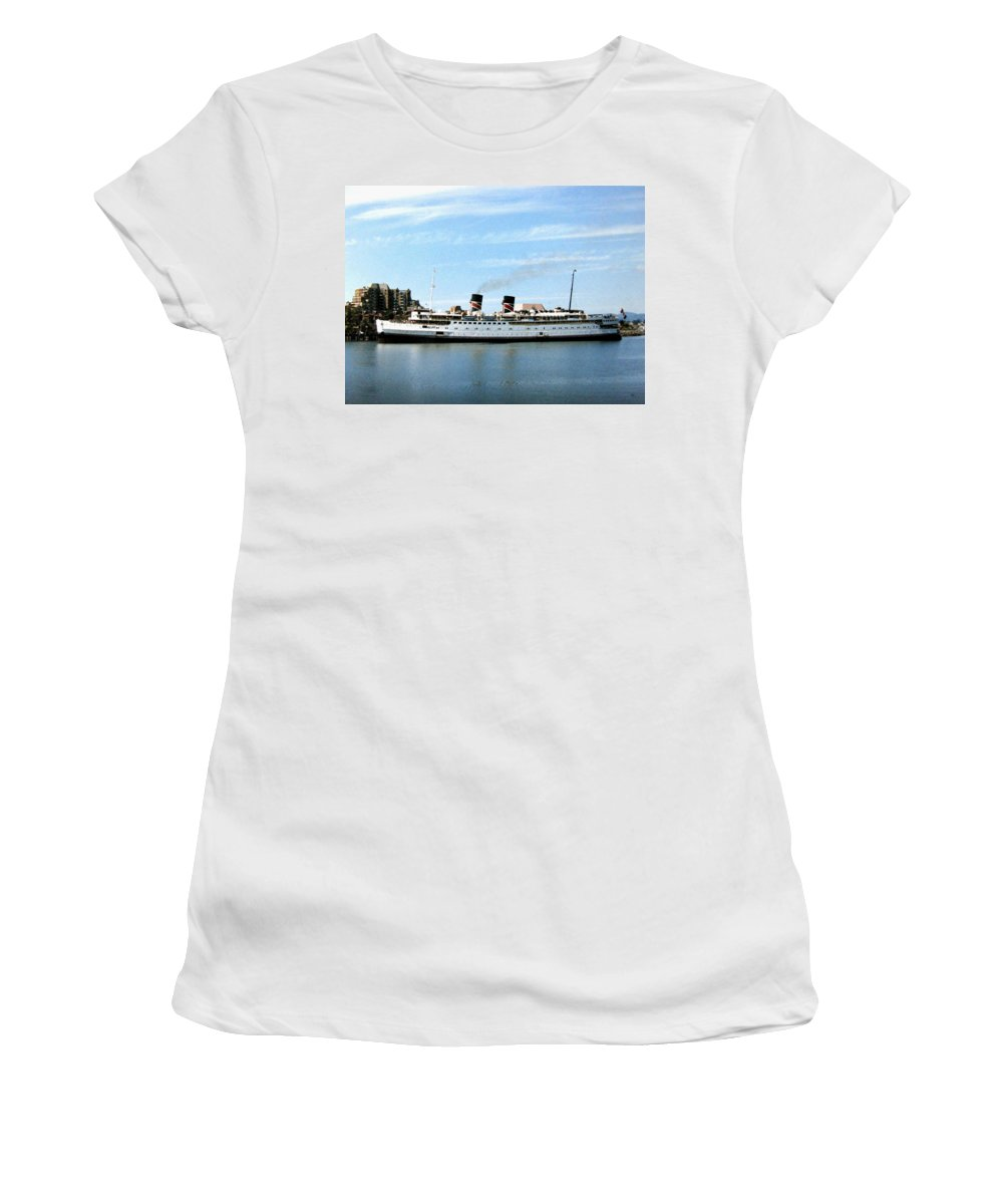 Princess Marguerite Women's T-Shirt (Athletic Fit) featuring the photograph Princess Marguerite by Will Borden