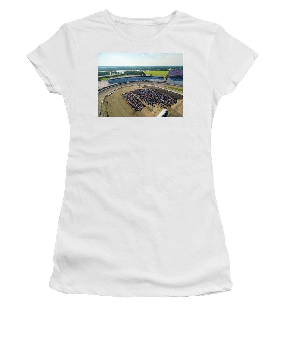 Mtts Women's T-Shirt featuring the photograph Richmond Rise/shine by That MINI Show