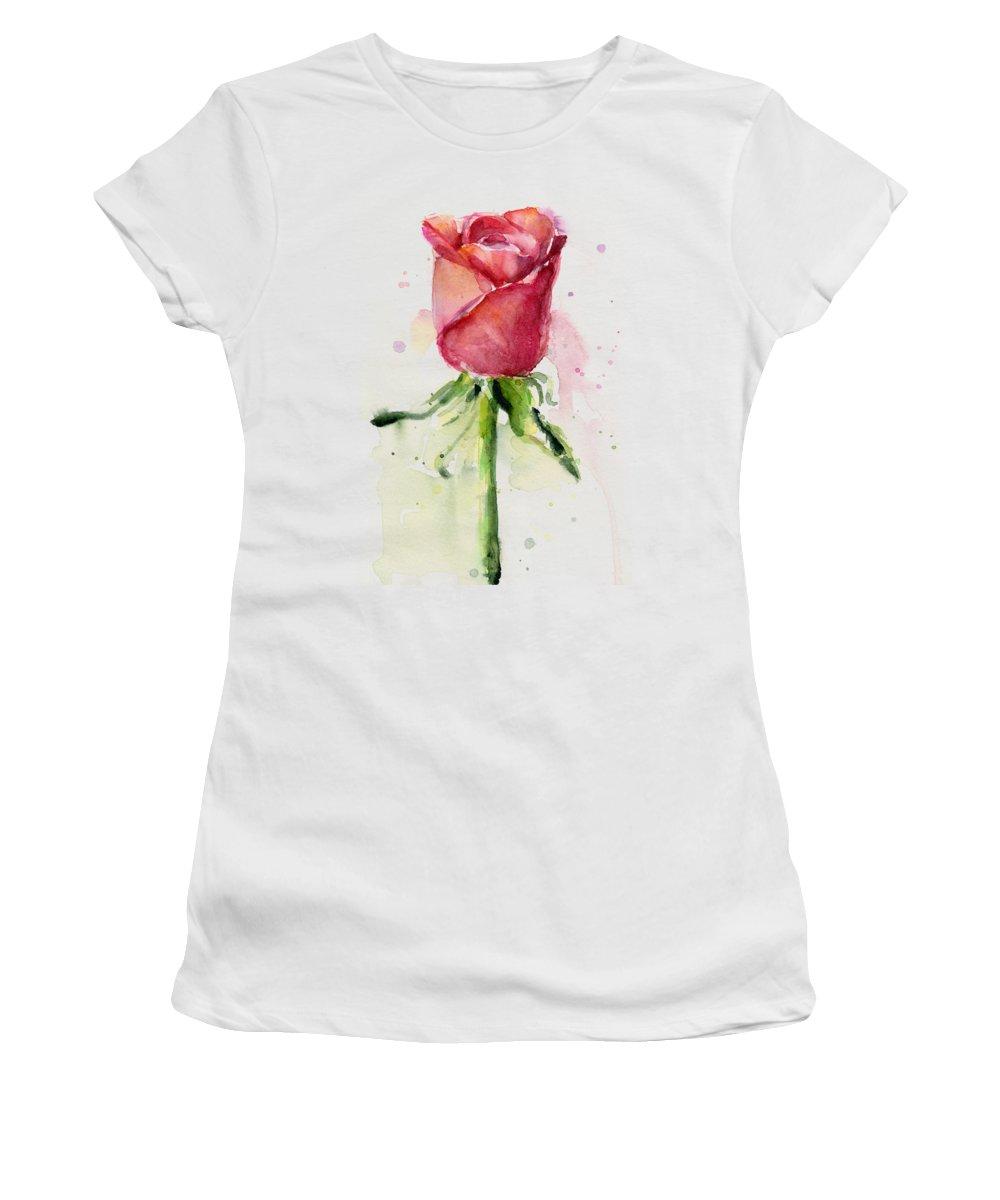 Rose Women's T-Shirts