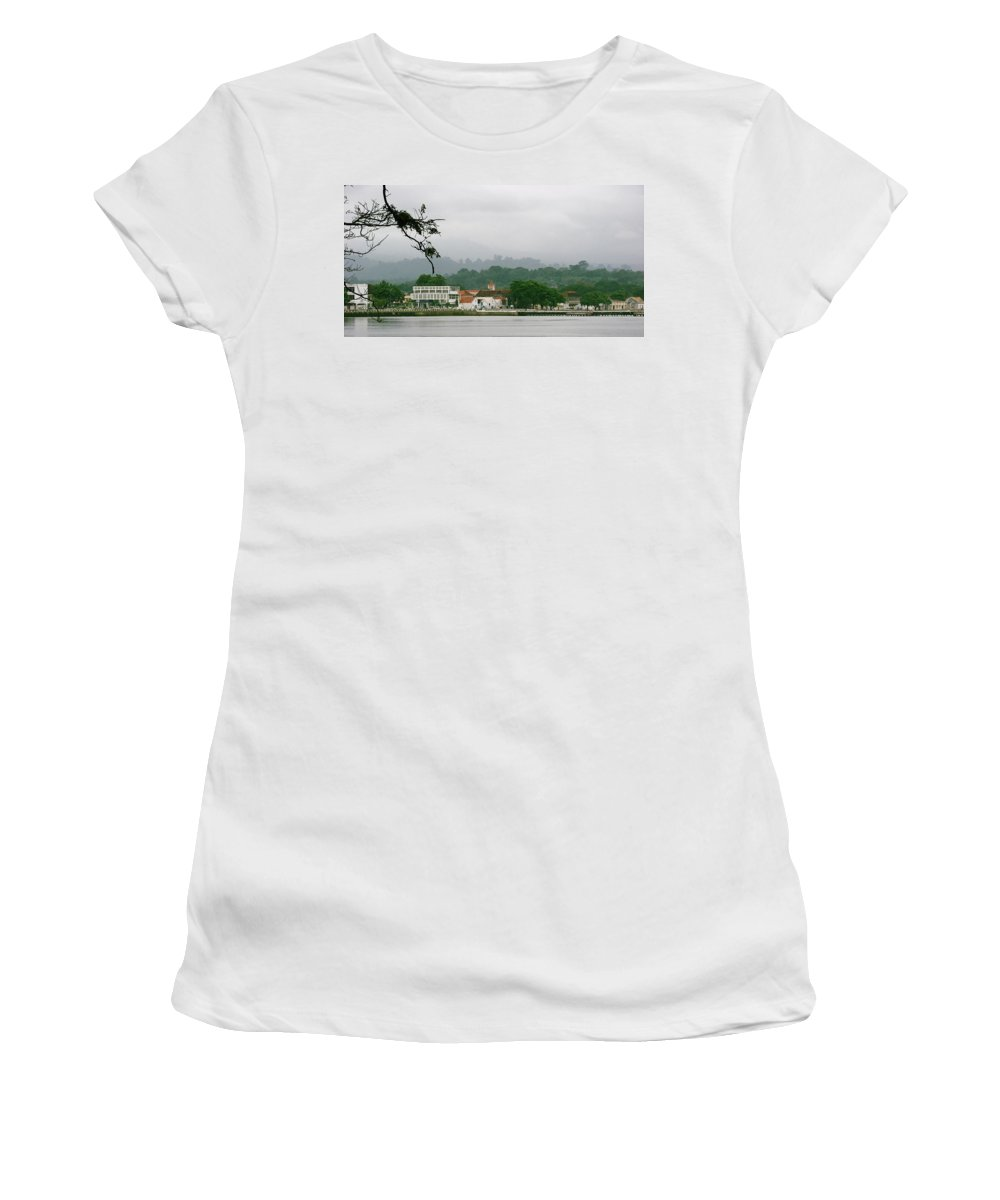 Sao Tome And Principe Women's T-Shirt (Athletic Fit) featuring the photograph Sao Tome And Principe IIi by Brett Winn