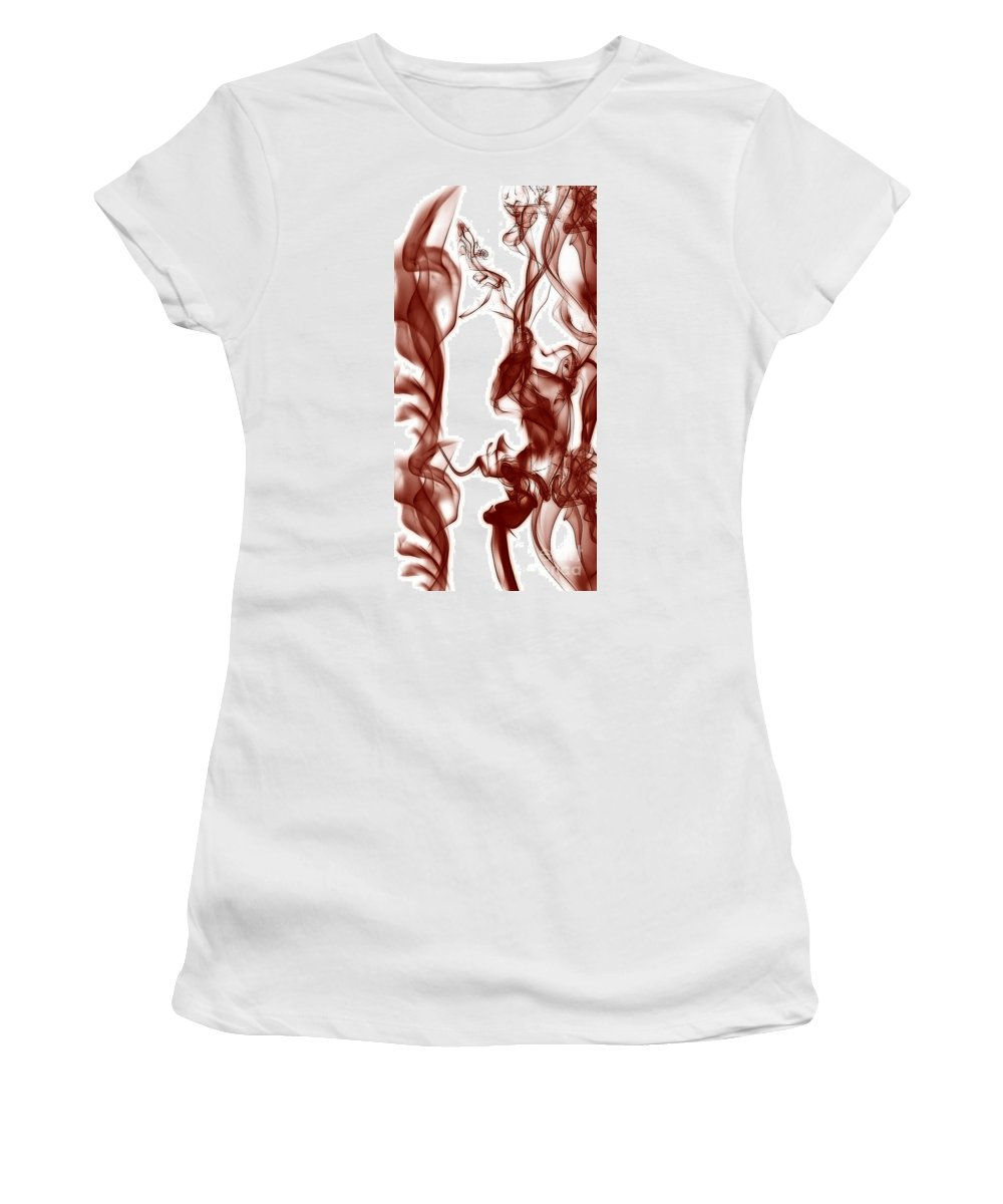 Clay Women's T-Shirt (Athletic Fit) featuring the digital art Schizophrenia by Clayton Bruster