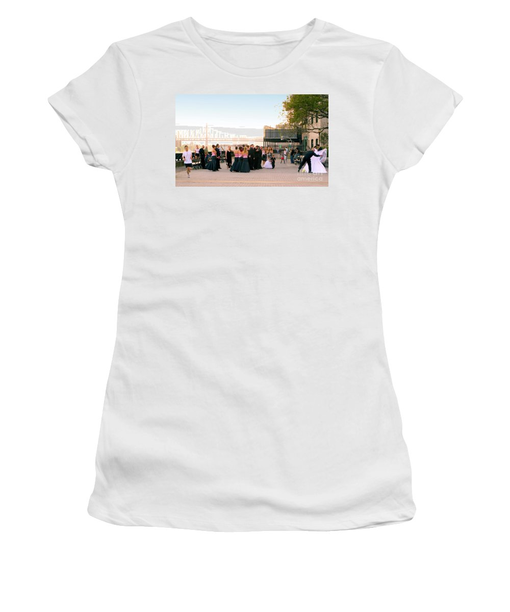 Wedding Women's T-Shirt featuring the photograph Second Thoughts by Madeline Ellis