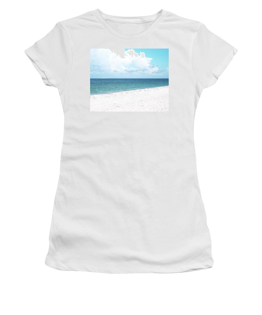 Florida Women's T-Shirt (Athletic Fit) featuring the photograph Serenity Gp by Chris Andruskiewicz