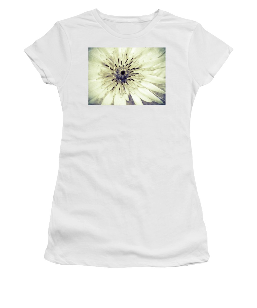 Flower Women's T-Shirt featuring the photograph She Wants To Be Beautiful by Tara Turner