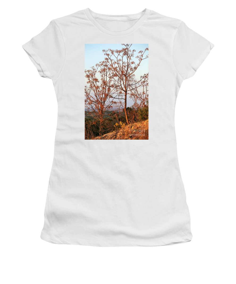 Women's T-Shirt featuring the photograph Shine Upon by Jeff Downs