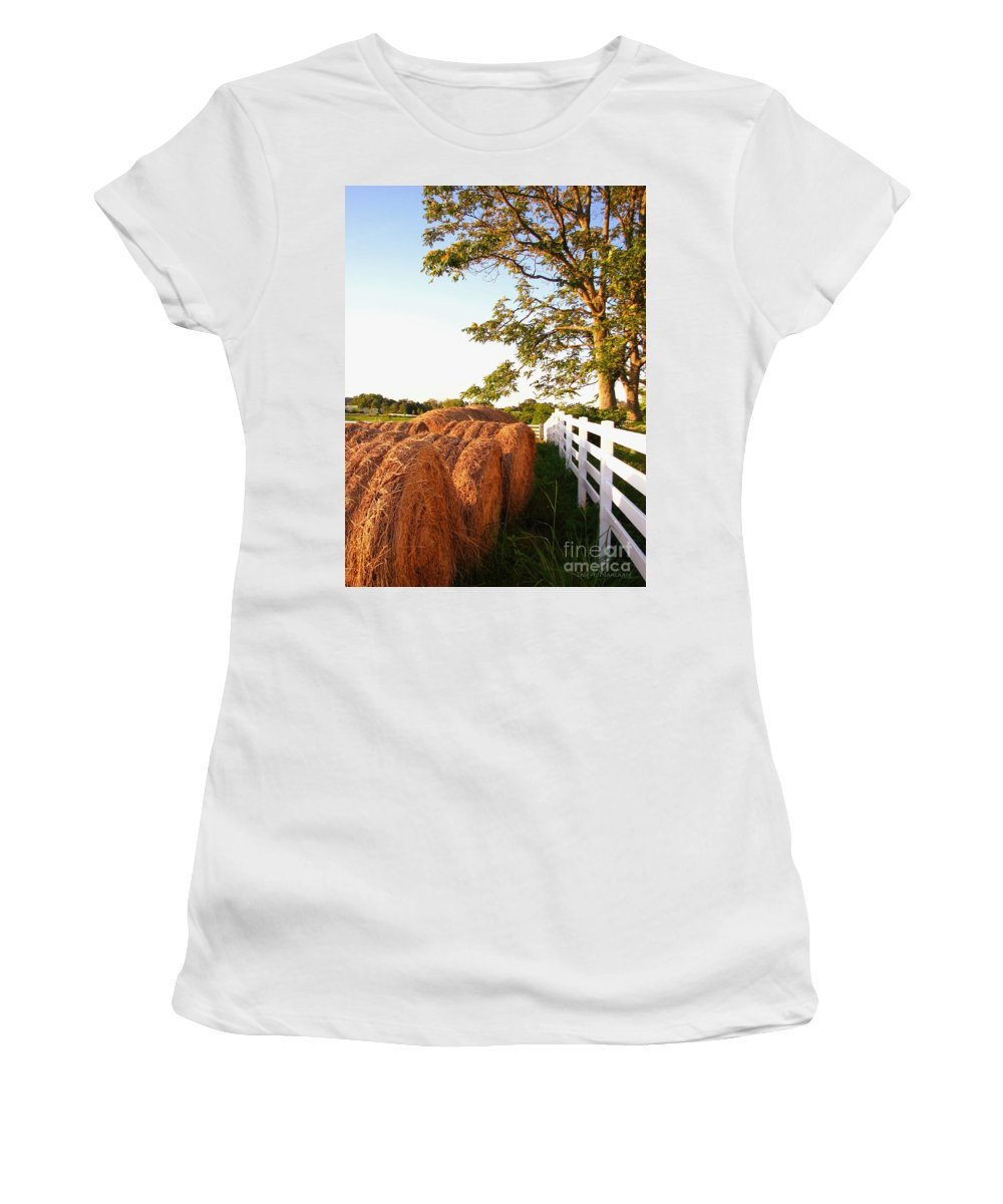 Landscape Women's T-Shirt (Athletic Fit) featuring the photograph Side-by-side by Todd A Blanchard