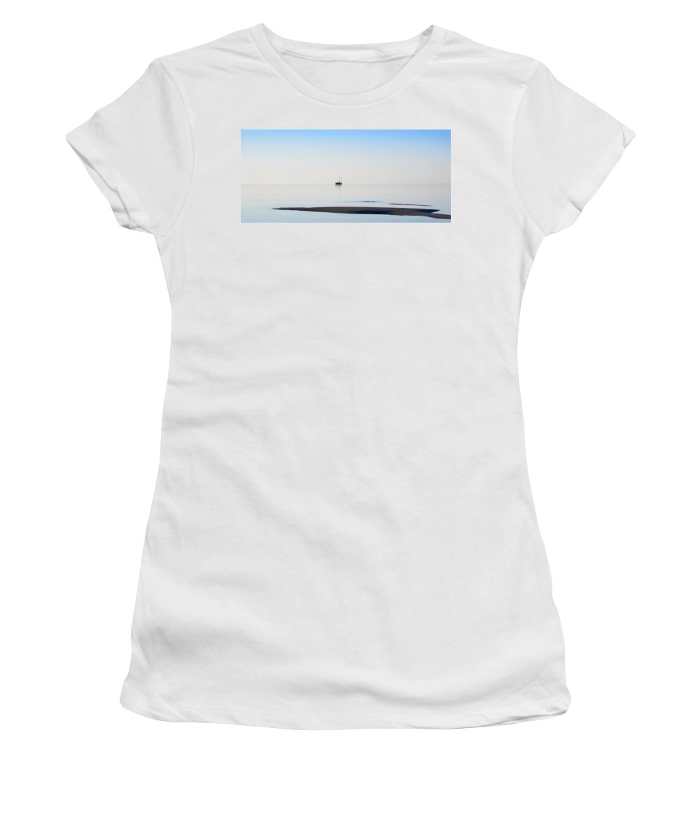 Water Women's T-Shirt (Athletic Fit) featuring the photograph Solitude by Kelley King