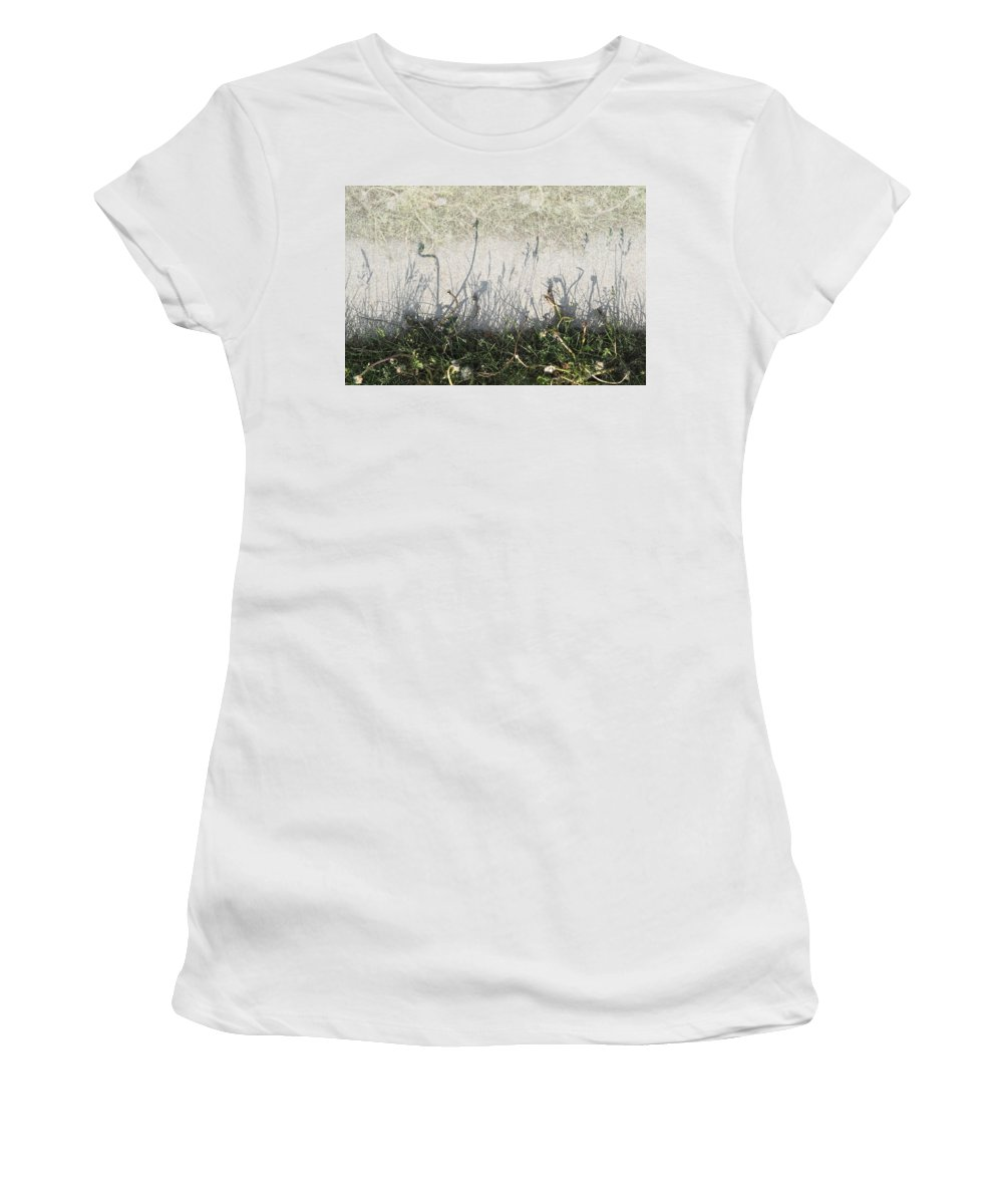 Weeds Women's T-Shirt featuring the photograph Some Peoples Weeds by Tim Nyberg