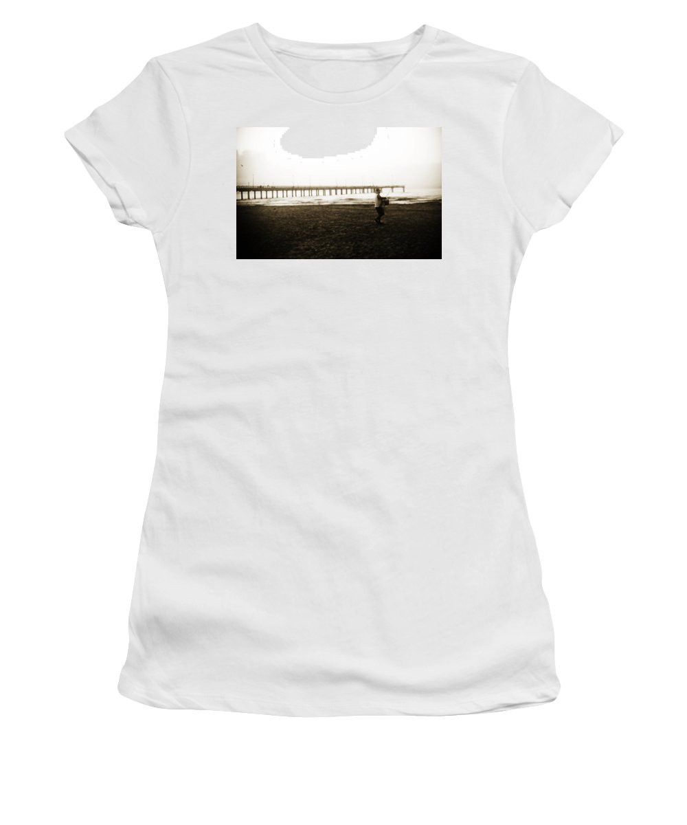 Fish Women's T-Shirt (Athletic Fit) featuring the photograph Starting Early by Marilyn Hunt