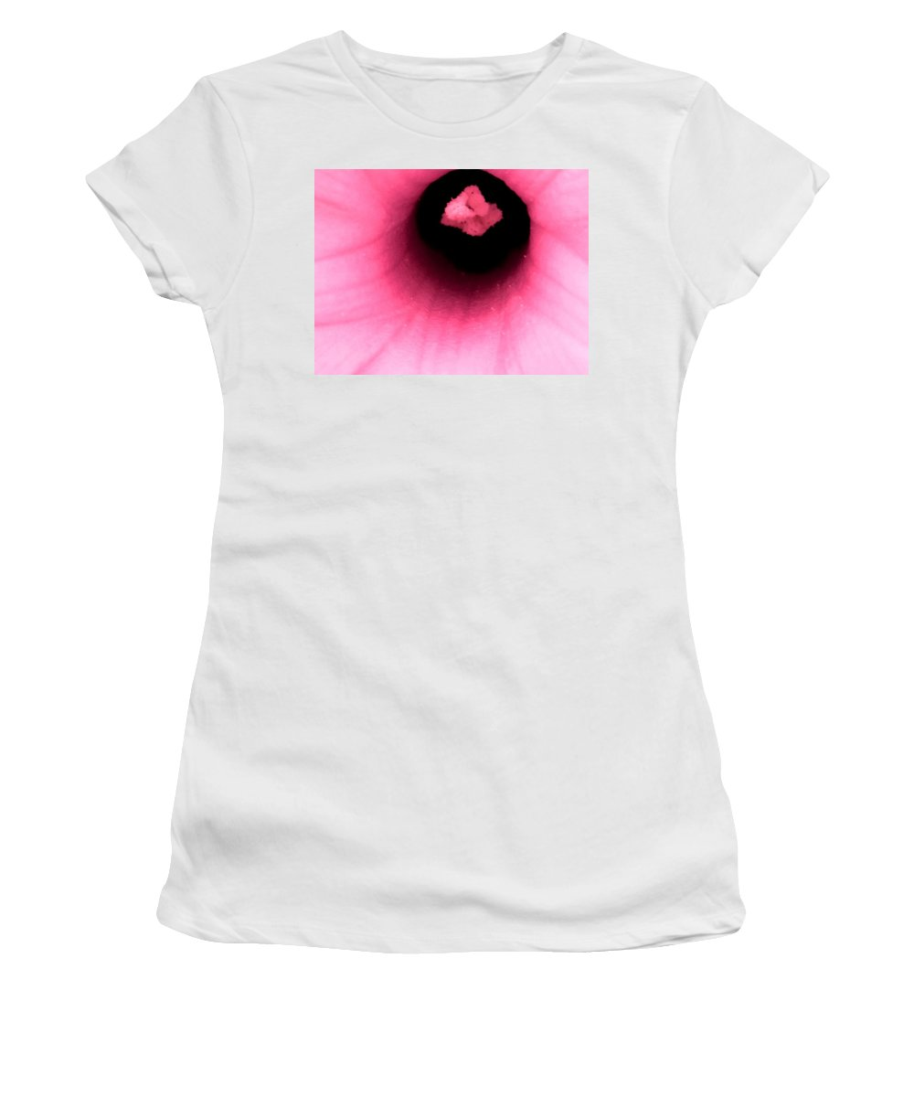 Abstract Women's T-Shirt featuring the photograph Sucked Into A Black Hole by Ian MacDonald