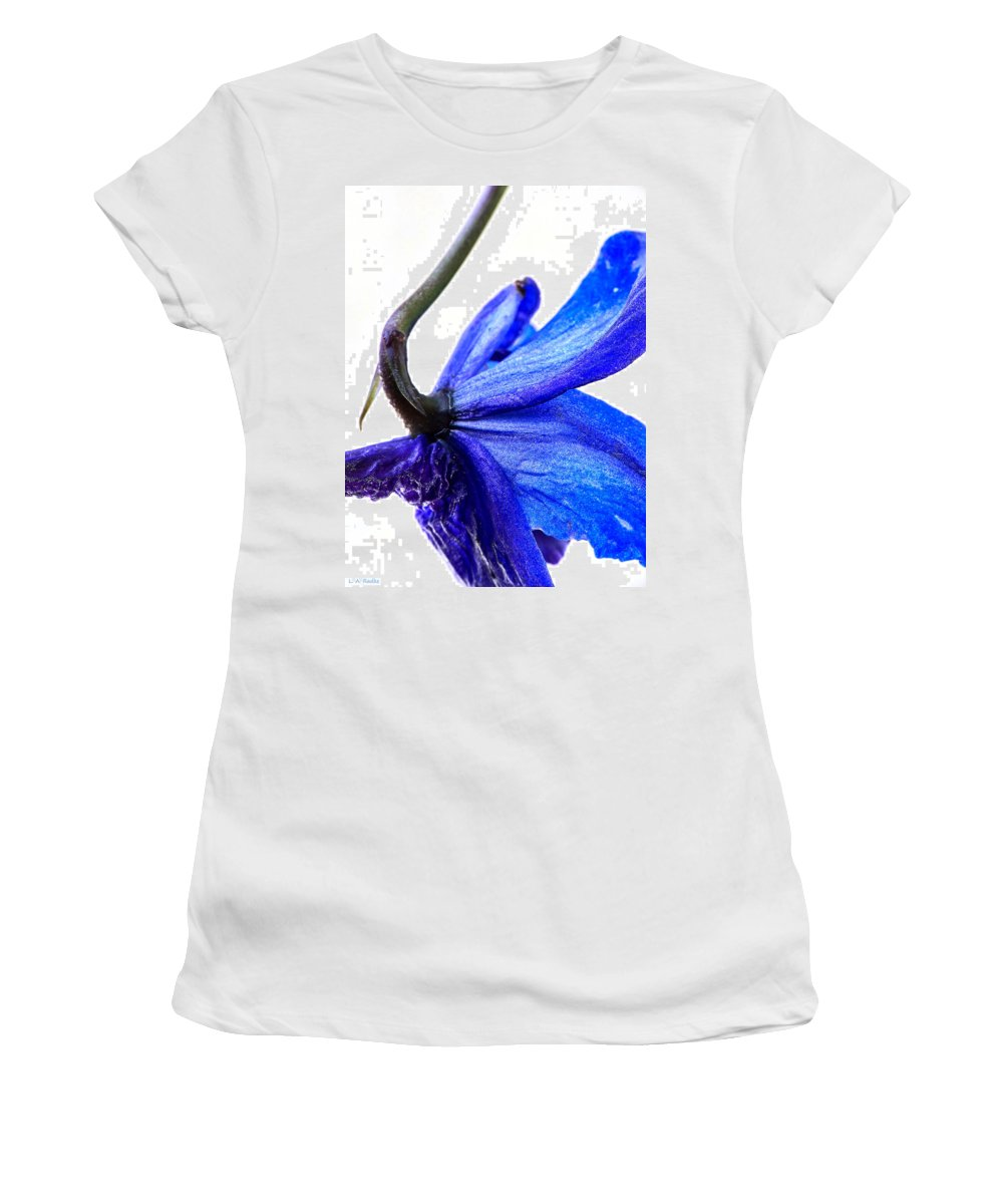 Lauren Radke Women's T-Shirt (Athletic Fit) featuring the photograph Surrender by Lauren Radke