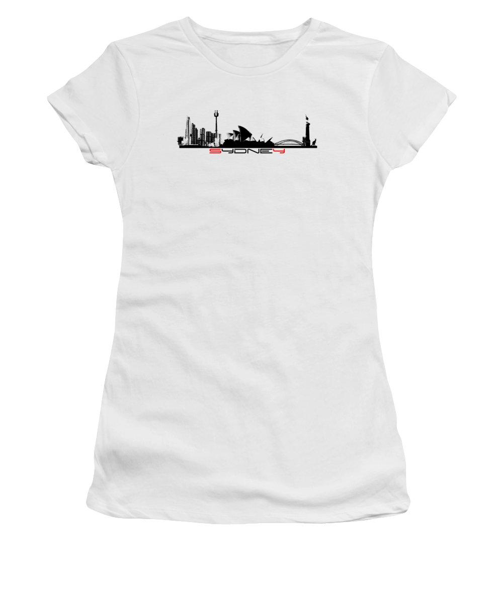 Sydney Skyline Women's T-Shirts