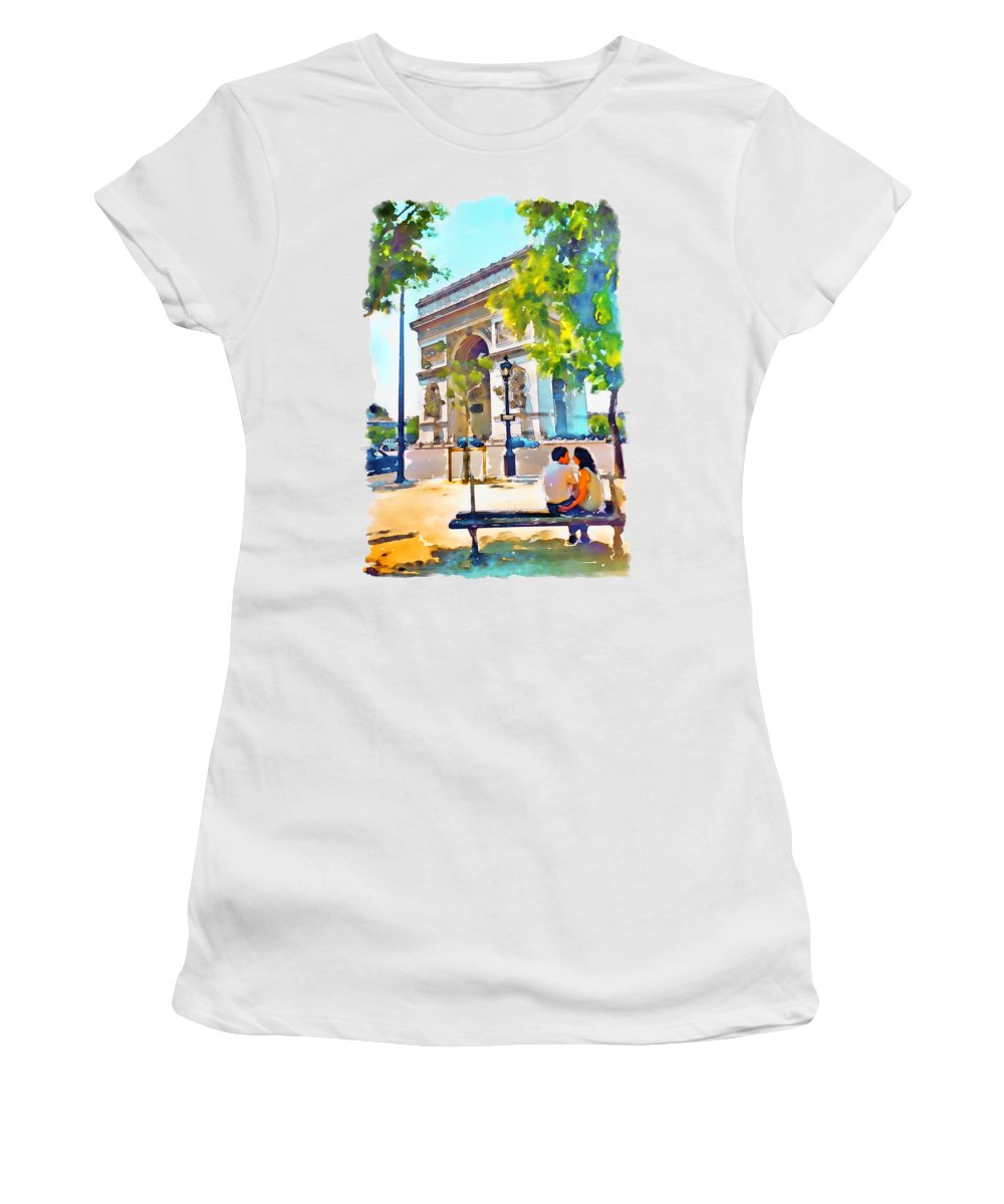 Arched Paintings Women's T-Shirts
