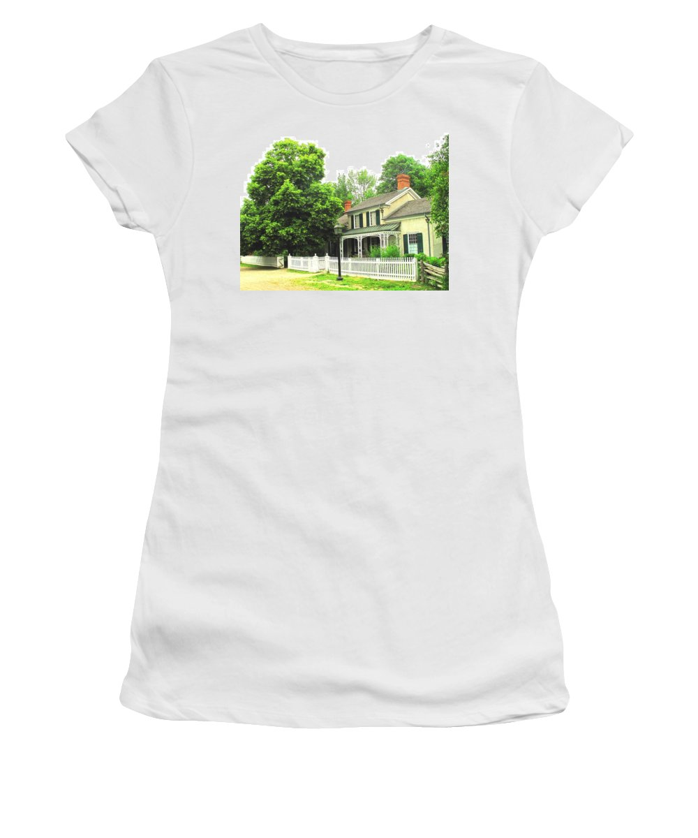 Doctor Women's T-Shirt (Athletic Fit) featuring the photograph The Doctors House by Ian MacDonald