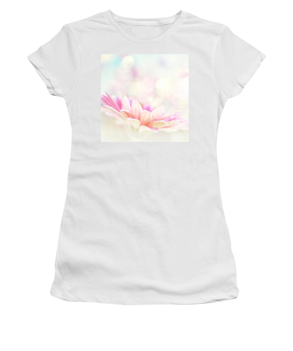 Aloha Women's T-Shirt (Athletic Fit) featuring the photograph The Paintbrush Of Spirit by Sharon Mau