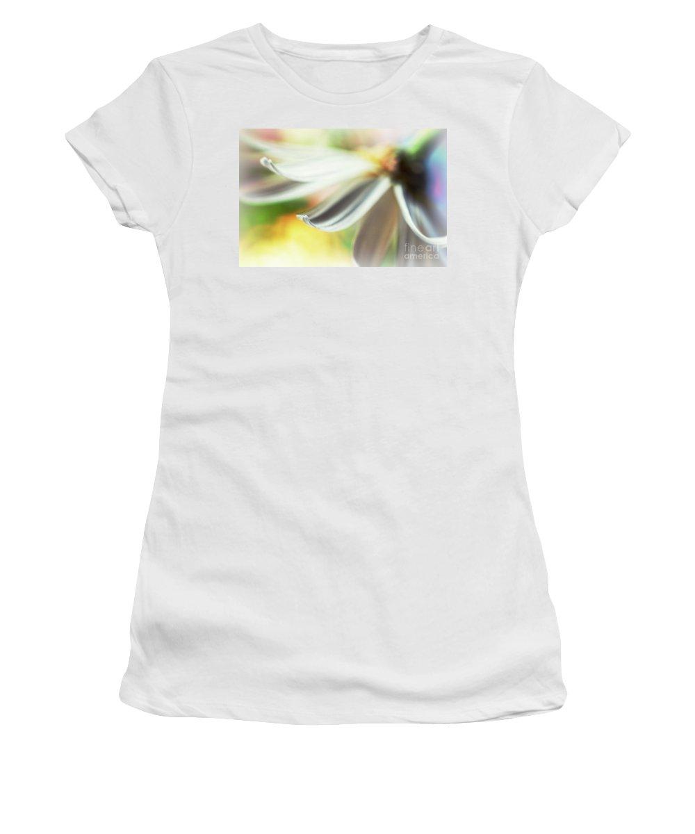 Petal Women's T-Shirt featuring the photograph The Petal II by Silvia Ganora